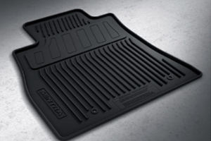 All-Season Floor Mats (Rubber / 4-piece / Black) image for your Nissan